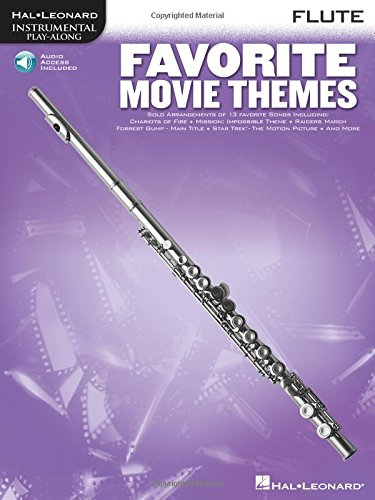 Favorite Movie Themes: Flute Play-Along Book with Online Audio
