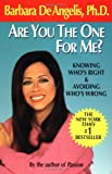 Are You the One for Me?, Barbara De Angelis, 0440506700