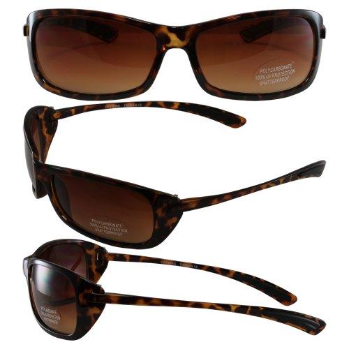 Birdz Eyewear Catbird Women's Fashion Riding Sunglasses (Tortoise Frame/Brown Gradient - Riding Sunglasses