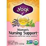 Yogi Womans Nursng Support Tea 16 ea ( pack of 3)