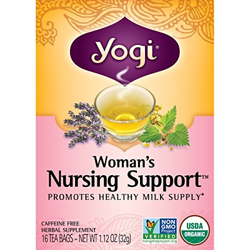 Organic Apples Support (Yogi Womans Nursng Support Tea 16 ea (pack of 3))