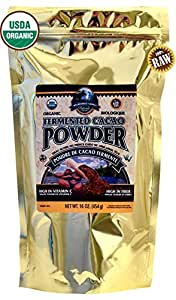 Wilderness Family Naturals Cacao Powder, Raw, Certified Organic,1 lb. ...