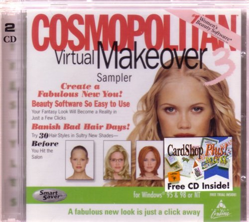 Amazon.com: Cosmopolitan Virtual Makeover Sampler (Jewel Case): Software