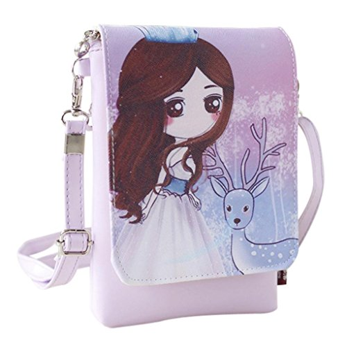 Cartoon Luoluoluo Oblique Women's SPAN Bag A Oblique Double Backpack Children's Shoulder ngnPqr