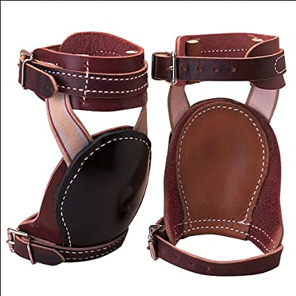 Leather Horse Skid Boot