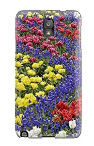 Tpu JeffreySCovey Shockproof Scratcheproof Earth Flower Hard Case Cover For Galaxy Note 3