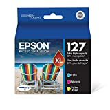 Epson T200 Series Ink Cartridge, Black/Cyan/Magenta/Yellow - 3 PACK