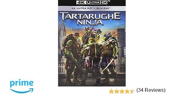 Tartarughe Ninja Blu-Ray 4K Ultra Hd+Blu-Ray Italia Blu-ray ...