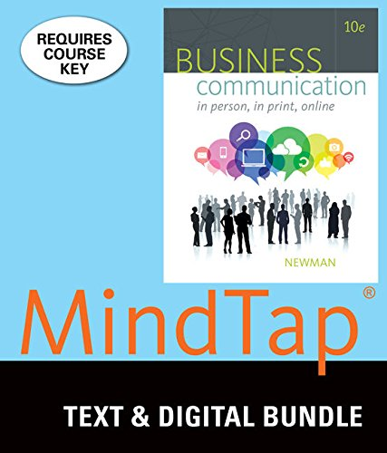 Bundle: Business Communication: In Person, In Print, Online, Loose-leaf Version, 10th + LMS Integrated for MindTap Busin