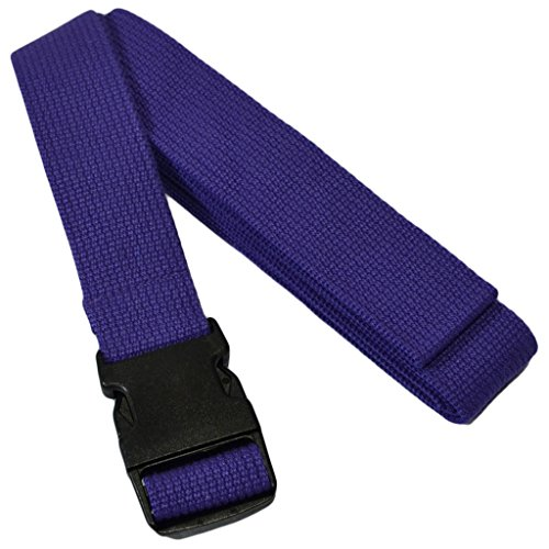 YogaAccessories 10' Cinch Buckle Cotton Yoga Strap