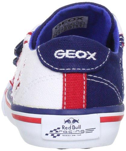 Geox J Pit Lane R.B.E - Zapatillas Azul / Blanco