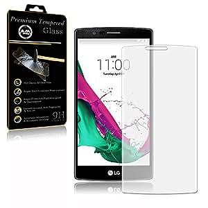 LG tanque G4Cristal protector de pantalla 2x tanque Cristal protector real cristal protector Vidrio protector de pantalla 9H