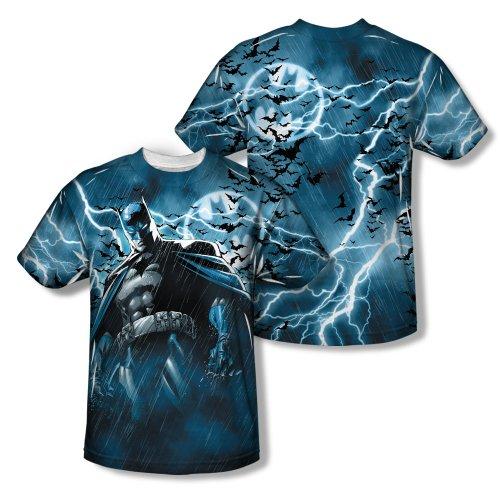 Batman Stormy Knight Sublimated T-Shirt- XLarge