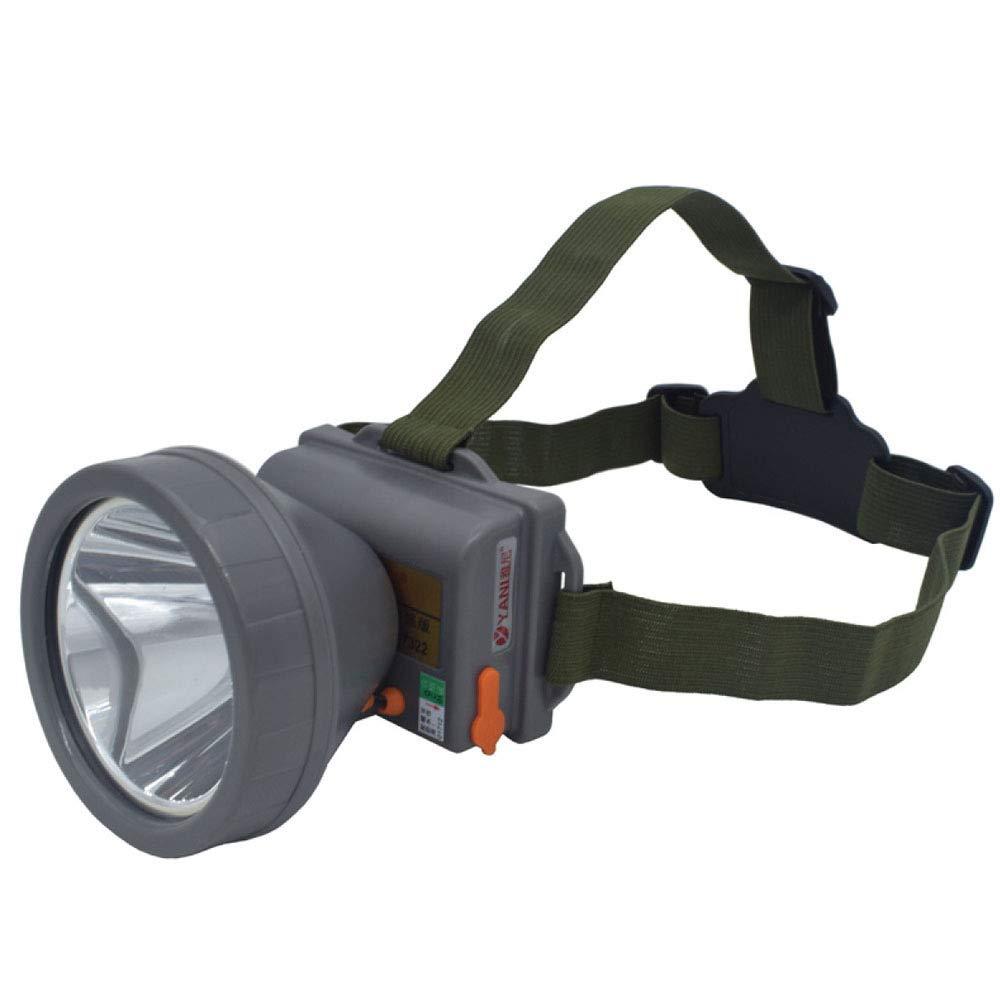 Liul LED Wasserdichte Scheinwerferlampe Angeln Camping Radfahren Tragbar Wandern,Gelblight