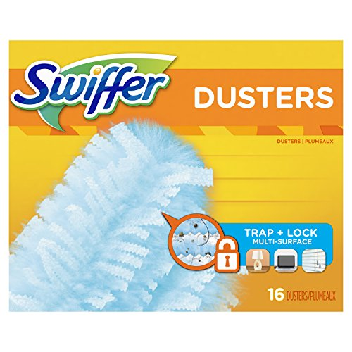 Swiffer Duster Refills, Unscented Dusters Refill, 16 count, Swifter