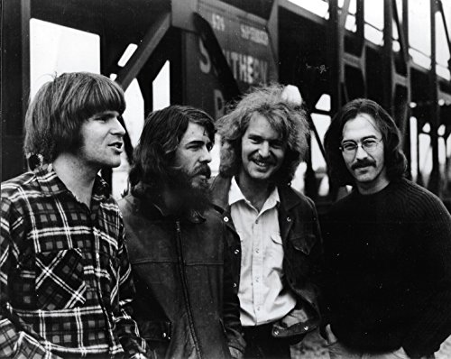 Creedence Clearwater Revival John Fogerty band 8 X 10 Reprint Photo - Beautiful !