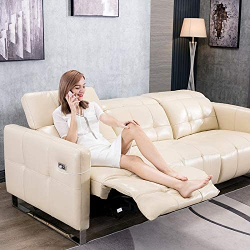 Sofa Bed First-Class Space Capsule Sofa European Lazy Single Leather Technology Cloth Multifunctional Intelligent Furniture Electric Recliner