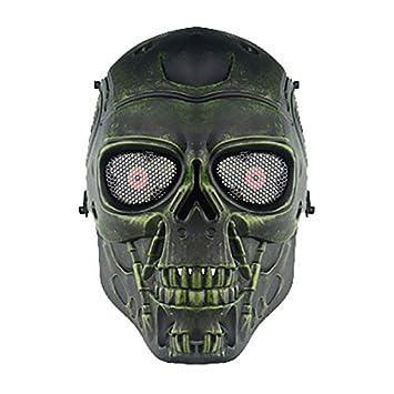 genenric - Máscara de Esqueleto para Airsoft, Juego de CS Paintball, táctica, Militar