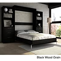 Cyme Tech Inc. Stellar Home Furniture Full Wall Bed Black