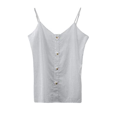 52e50178c394 Womens Muscle Tank Women's High Neck Tank Top Sleeveless Blouse Plain T  Shirts Pocket Cami Summer Tops at Amazon Women's Clothing store: