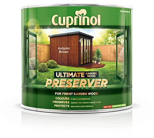(Cuprinol Ultimate Garden Wood Preserver Autumn Brown 1L )