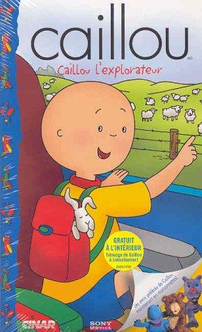 Caillou: Caillou L'explorateur [VHS]