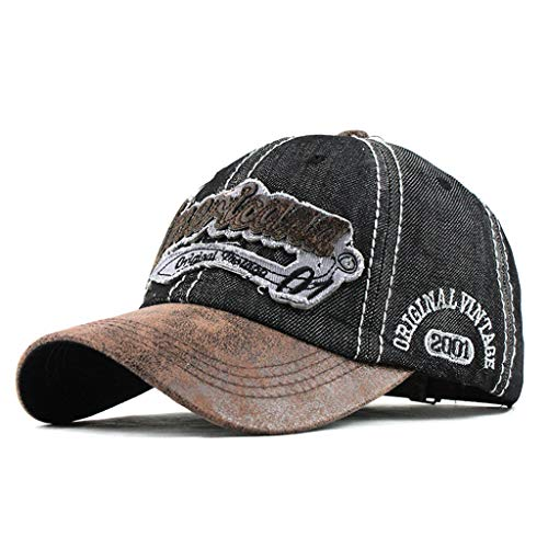 Mbtaua Summer Cool Outdoor Embroidered Caps Retro Baseball Caps Dad Hats