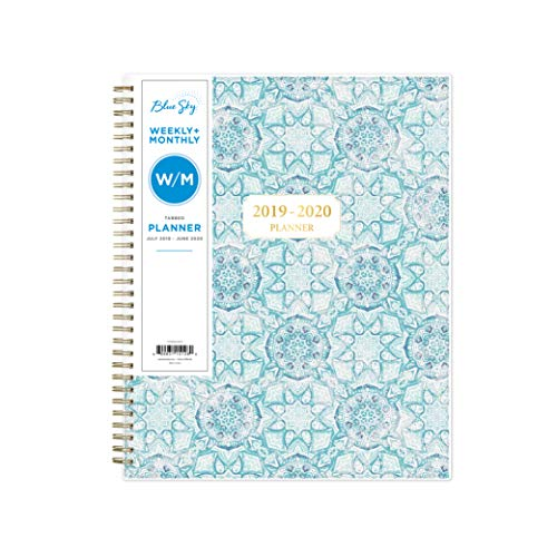 Top 10 best planner 2018-2019 academic year blue sky for 2019