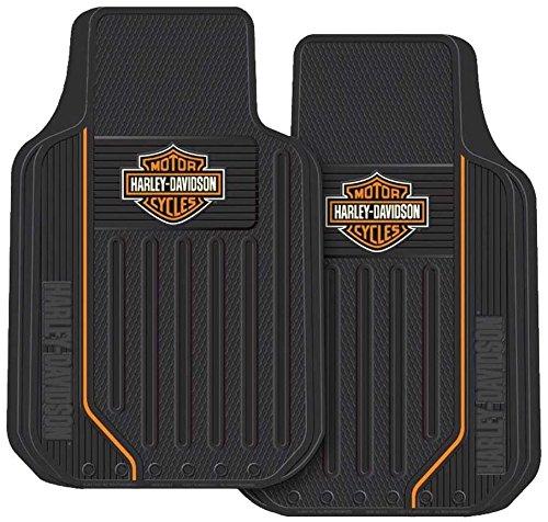 Bar /& Shield Universal-Fit Front 1467 Set of 2 Plasticolor Molded Products Harley-Davidson Elite Floor Mats