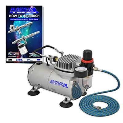 Airbrush Pro 1/6 HP Air Compressor w/ Regulator Filter
