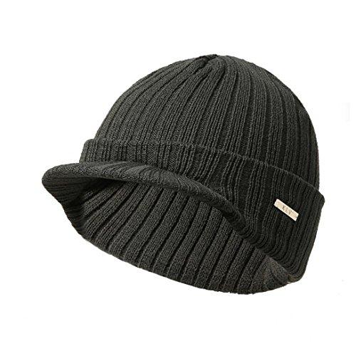 Yezijin Baggy Warm Crochet Winter Wool Knit Ski Beanie Skull Slouchy Caps Hat (D) ()