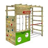 Fatmoose CleverClimber Club XXL Wooden Playground Climbing Tower