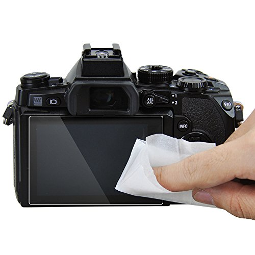 JJC GSP-XT10 Tempered Glass Screen Protector for Fuji Fujifilm Finepix X-T20, X-T10, X-E3 Camera
