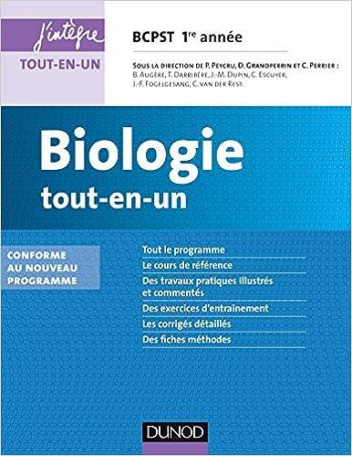 En ligne téléchargement gratuit Biologie tout-en-un BCPST 1re année - 3e éd. - Conforme au nouveau programme pdf