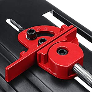 DOMINTY Angle Grinder Stand Angle Grinder bracket Holder Metal Cutting Machine Aluminum body for 100/115/125mm angle