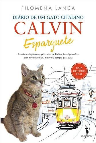Calvin Esparguete Diário de um gato citadino (Portuguese Edition): Filomena Lança: 9789722065542: Amazon.com: Books