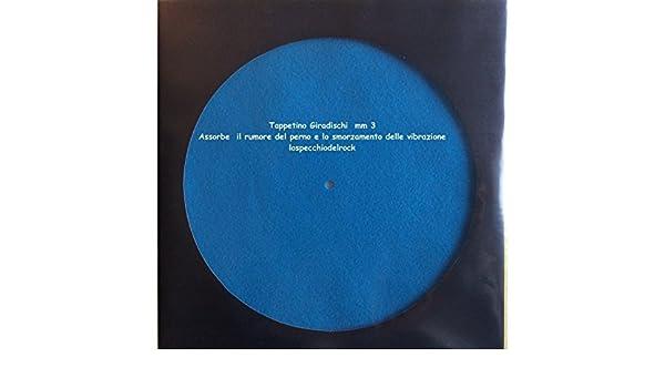 Slipmat alfombrilla para tocadiscos Color Azul Mar: Amazon.es ...