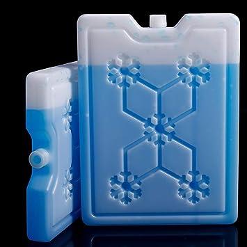 HGYLIOE Caja cristalina del Hielo Ice Box Fila de Hielo, Aire ...