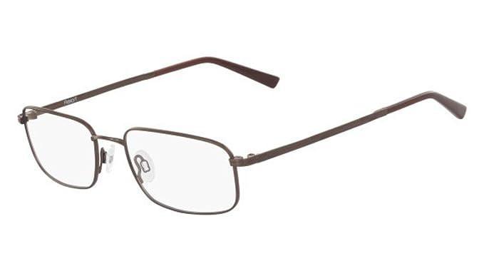 Eyeglasses FLEXON ORWELL 600 210 BROWN: Amazon.co.uk: Clothing