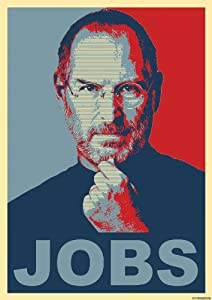 steve jobs poster Steve Jobs Poster Jobs - Red Blue Poster - Steve Jobs Apple Poster Rot Blau - Great Art Red Blue Poster Collection - Shepard Fairey Obama Hope Poster 33,4 X ...