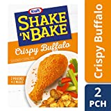 Kraft Shake N Bake Seasoned Coating Mix Box, Crispy Buffalo, 4.75 Ounce (Pack of 8)