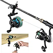 PLUSINNO Fishing Line Spooler with Unwinding Function, Fishing line Spooling Station Versatile for Both Thick