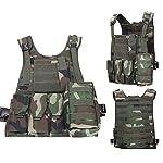 ThreeH Gilet tactique militaire Paintball équipement de police équipement de protection 7
