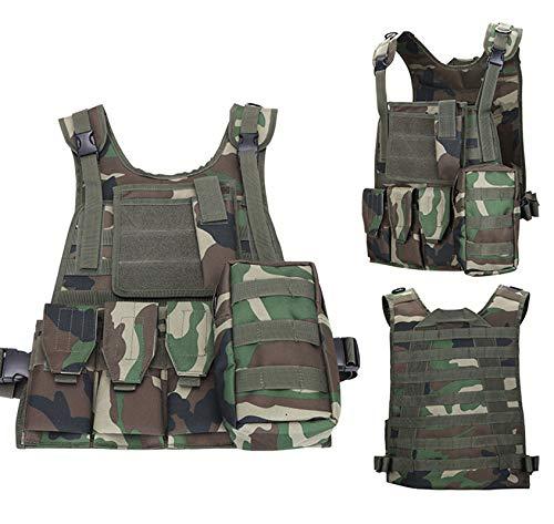ThreeH Gilet tactique militaire Paintball équipement de police équipement de protection 3