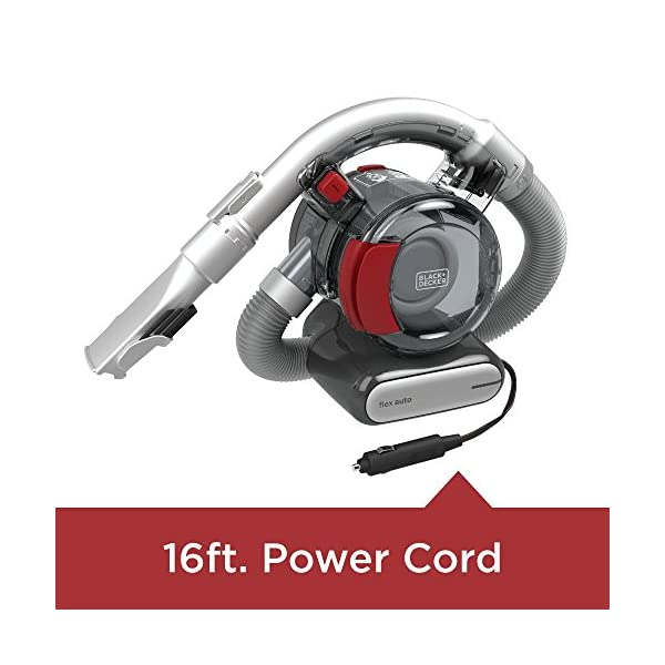BLACKDECKER BDH1200FVAV 12V Flexi Automotive Vacuum Corded