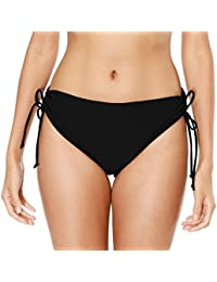 Women's Bikini Bottoms High Cut Swim Bottom Ruched...