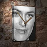 Seasons Sarah Clarke - Canvas Clock (Large A3 - Signed by The Artist) #js004