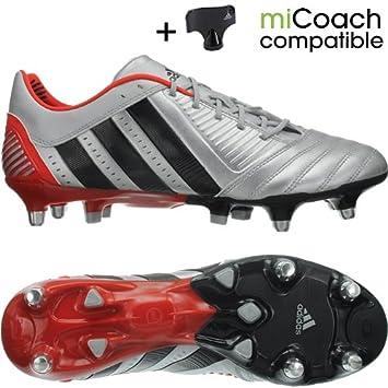 57472f04e41b Adidas Predator Incurza XTRX SG G60022 soccer rugby cleats men Silver  Black  Amazon.co.uk  Sports   Outdoors