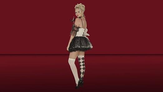 le belle harlekin adult kostüm