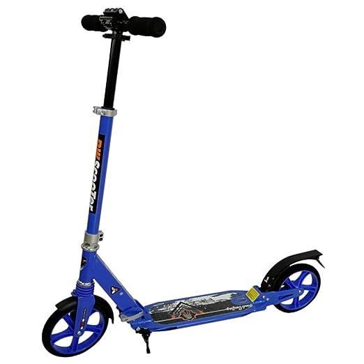 ACZZ Patinete para adultos con ruedas grandes y suspensión ...